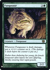 Fungusaur, Magic: The Gathering, Mystery Booster: Retail Exclusives