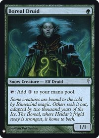 Boreal Druid, Magic: The Gathering, Mystery Booster: Retail Exclusives