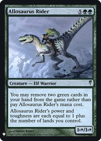 Allosaurus Rider, Magic: The Gathering, Mystery Booster: Retail Exclusives
