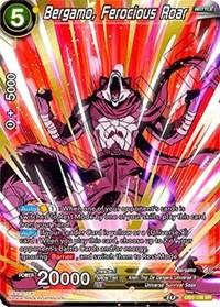 Bergamo, Ferocious Roar, Dragon Ball Super CCG, Draft Box 05 - Divine Multiverse