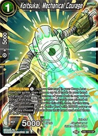 Koitsukai, Mechanical Courage, Dragon Ball Super CCG, Draft Box 05 - Divine Multiverse