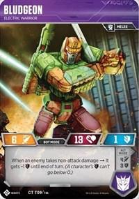 Bludgeon - Electric Warrior, Transformers TCG, Titan Masters Attack