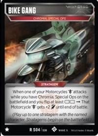 Bike Gang, Transformers TCG, Titan Masters Attack