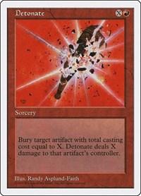 Detonate, Magic: The Gathering, Fifth Edition