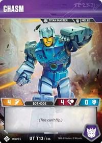 Chasm, Transformers TCG, Titan Masters Attack
