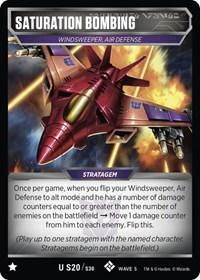 Saturation Bombing, Transformers TCG, Titan Masters Attack