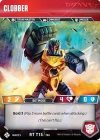 Clobber, Transformers TCG, Titan Masters Attack