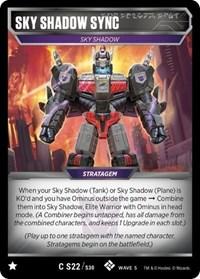 Sky Shadow Sync, Transformers TCG, Titan Masters Attack