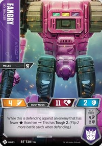 Fangry - Sky Tracker, Transformers TCG, Titan Masters Attack