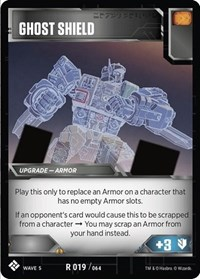 Ghost Shield, Transformers TCG, Titan Masters Attack