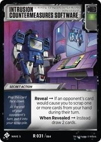 Intrusion Countermeasures Software, Transformers TCG, Titan Masters Attack