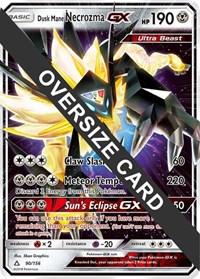 Dusk Mane Necrozma GX - 90/156 (Ultra Prism), Pokemon, Jumbo Cards