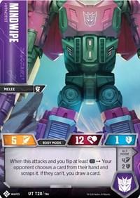 Mindwipe - Hypnotist, Transformers TCG, Titan Masters Attack