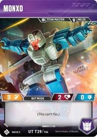 Monxo, Transformers TCG, Titan Masters Attack