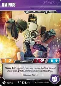 Ominus, Transformers TCG, Titan Masters Attack