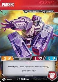 Parsec, Transformers TCG, Titan Masters Attack