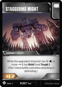 Staggering Might, Transformers TCG, Titan Masters Attack
