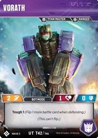 Vorath, Transformers TCG, Titan Masters Attack