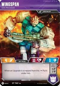 Wingspan - Data Processor, Transformers TCG, Titan Masters Attack