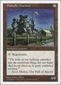 Diabolic Machine, Magic: The Gathering, Fifth Edition