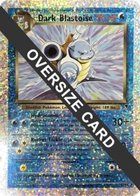 Dark Blastoise - S2/S4 (Box Topper), Pokemon, Jumbo Cards