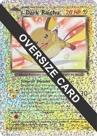 Dark Raichu - S3/S4 (Box Topper), Pokemon, Jumbo Cards