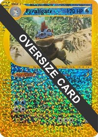 Feraligatr - 2/12 (Box Topper), Pokemon, Jumbo Cards