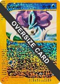Suicune - 7/12 (Box Topper), Pokemon, Jumbo Cards