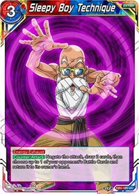 Sleepy Boy Technique, Dragon Ball Super CCG, Draft Box 05 - Divine Multiverse