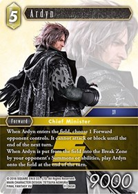 Backup Common Crowe 11-092C Final Fantasy TCG Opus XI Lightning