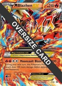 M Blaziken EX - XY86 (XY Black Star Promos), Pokemon, Jumbo Cards