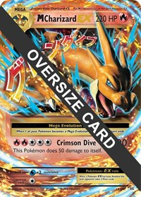 M Charizard EX - 13/106 (Flashfire - Form Y), Pokemon, Jumbo Cards