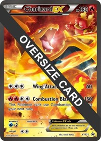 Charizard EX - XY121 (XY Black Star Promos), Pokemon, Jumbo Cards