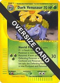 Dark Venusaur - 7 (Best of Game 7 Promo), Pokemon, Jumbo Cards