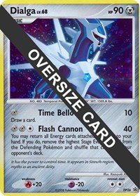 Dialga - DP26 (DP Black Star Promo), Pokemon, Jumbo Cards
