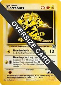 Electabuzz - 1 (Best of Game 1 Promo), Pokemon, Jumbo Cards