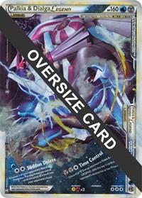 Palkia & Dialga Legends - 101+102 (Single Oversized Promo), Pokemon, Jumbo Cards