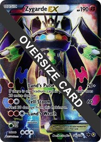 Zygarde EX - 54/124 (Fates Collide), Pokemon, Jumbo Cards