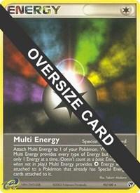 Multi Energy - 93/100 (EX Sandstorm), Pokemon, Jumbo Cards
