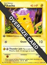 Pikachu - 58/102 (Base Set 58/102), Pokemon, Jumbo Cards