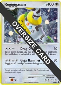 Regigigas - DP40 (DP Black Star Promo), Pokemon, Jumbo Cards