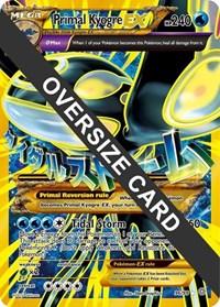 Primal Kyogre EX - 96/98 (Ancient Origins), Pokemon, Jumbo Cards