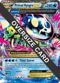Primal Kyogre - 55/160 (Primal Clash), Pokemon, Jumbo Cards