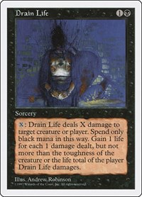Drain Life, Magic: The Gathering, Fifth Edition