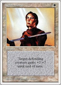 Righteousness, Magic: The Gathering, Summer Magic