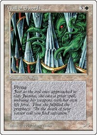 Wall of Swords, Magic: The Gathering, Summer Magic
