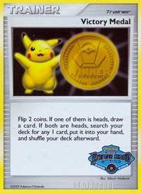Victory Medal - Spring 2008-2009 (Victory Medals Promo), Pokemon, League & Championship Cards