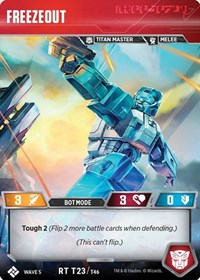 Freezeout, Transformers TCG, Titan Masters Attack
