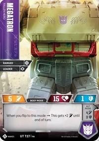 Megatron - Fallen Hero, Transformers TCG, Titan Masters Attack