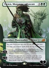 Vivien, Monsters' Advocate (Borderless), Magic, Ikoria: Lair of Behemoths